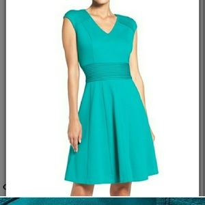 Green Eliza J dress